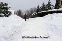 Wohin mit dem Schnee?