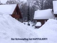 Der Schneepflug hat kapituliert!